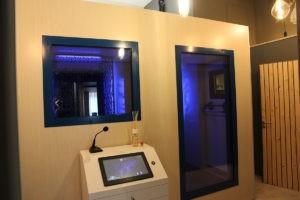 double chambre à air sec de cryothérapie