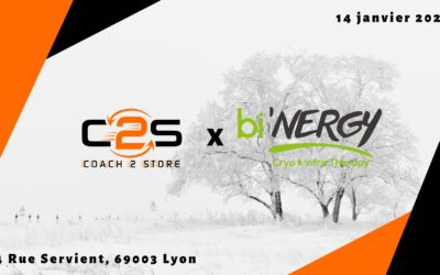 bi'NERGY centre de cryothérapie à Lyon partenaire de Coach2Store