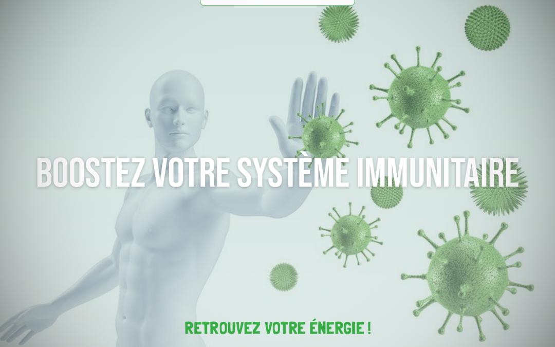 Reboostez votre système immunitaire